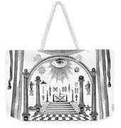 Washington Masonic Apron Weekender Tote Bag