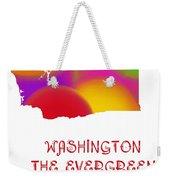 Washington State Map Collection 2 Weekender Tote Bag