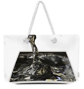Water Droplet Weekender Tote Bag