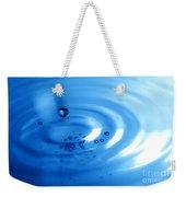 Water Drops Weekender Tote Bag by Michal Bednarek