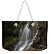 Water On The Mountain Weekender Tote Bag