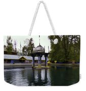 Water Tank And Premises Inside The Mattan Temple Weekender Tote Bag