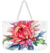 Watercolor Illustration With Beautiful Flowers  Weekender Tote Bag