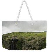 Waterfall Flowing Over The Edge Weekender Tote Bag
