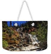 Waterfall In Jasper 1 Weekender Tote Bag