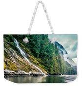Waterfall Jervis Inlet Weekender Tote Bag