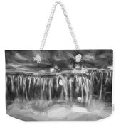 Waterfalls Childs National Park Painted Bw   Weekender Tote Bag