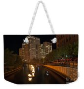 Waterfire.  Providence Rhode Island Weekender Tote Bag
