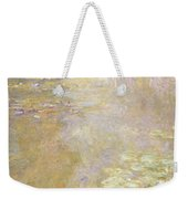 Waterlily Pond Weekender Tote Bag