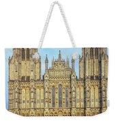 Wells Cathedral Weekender Tote Bag