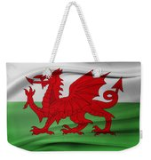 Welsh Flag Weekender Tote Bag