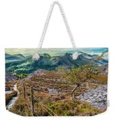 Welsh Mountains Weekender Tote Bag