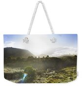 West Coast Range Landscape In Tasmania Australia Weekender Tote Bag
