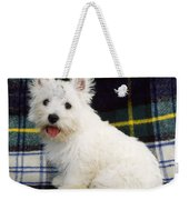 West Highland White Terrier Puppy Weekender Tote Bag