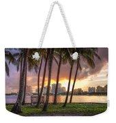 West Palm Beach Skyline Weekender Tote Bag