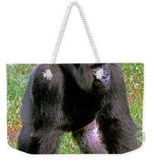 Western Lowland Gorilla Silverback Weekender Tote Bag