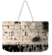 Western Wall Photopaint One Weekender Tote Bag