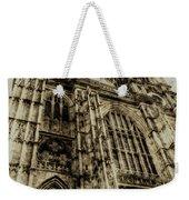 Westminster Abbey London Vintage Weekender Tote Bag