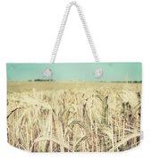 Wheat Crop Weekender Tote Bag