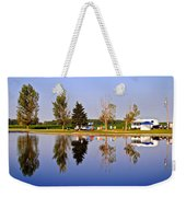 Which Way Is Up Weekender Tote Bag