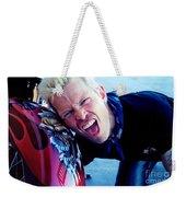 Billy Idol - Whiplash Smile Weekender Tote Bag