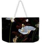 White Calla Lilies Weekender Tote Bag