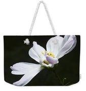 White Flower In Bloom Weekender Tote Bag