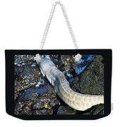White Moray Eel Weekender Tote Bag