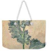 White Poppy Weekender Tote Bag