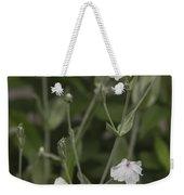 White Rose Campion Weekender Tote Bag