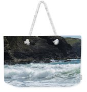 White Surf Weekender Tote Bag