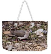 Whitetipped Dove Weekender Tote Bag