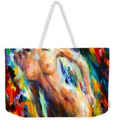Wild Cat Weekender Tote Bag
