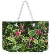 Wild Grass Flower Weekender Tote Bag