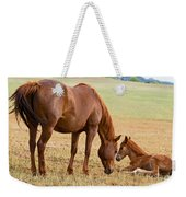 Wild Horse Mother And Foal Weekender Tote Bag