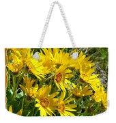 Wild Okanagan Sunflowers Weekender Tote Bag