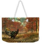 Wild Turkey Weekender Tote Bag by Daniel Eskridge