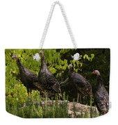 Wild Turkey Meleagris Gallopavo Weekender Tote Bag