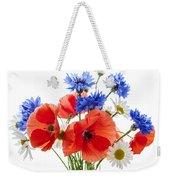Wildflower Bouquet Weekender Tote Bag