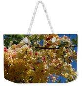 Wilhelmina Tenney Rainbow Shower Tree Weekender Tote Bag