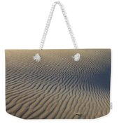 Wind Traces At The Desert Weekender Tote Bag