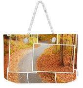 Winding Alley In Fall Weekender Tote Bag