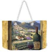 Wine And Lavender Weekender Tote Bag