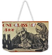 Wine Is Fine Weekender Tote Bag by Frozen in Time Fine Art Photography
