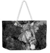 Winged Girl 8 Weekender Tote Bag