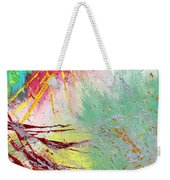 Modern Abstract Diptych Part 2 Weekender Tote Bag