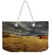 Winter Begins Weekender Tote Bag by Lois Bryan