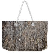 Winter Forest Weekender Tote Bag