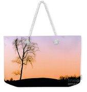 Winter Sunset Tree Weekender Tote Bag