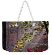 Wissahickon Autumn Weekender Tote Bag by Bill Cannon